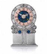 Archibald Knox No' 44 Enamelled Pewter Clock